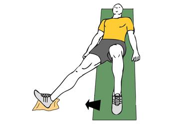 Abducción cadera tumbado