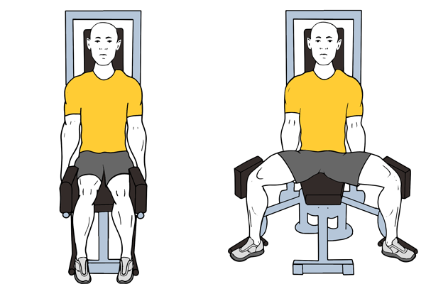 Seated Hip Abduction Machine