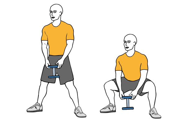 Sumo (Plié) Dumbbell squat